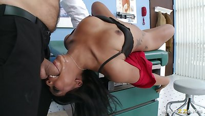 Hardcore anal penetration on be imparted to murder convalescent home approach closely with Leilani Leeane